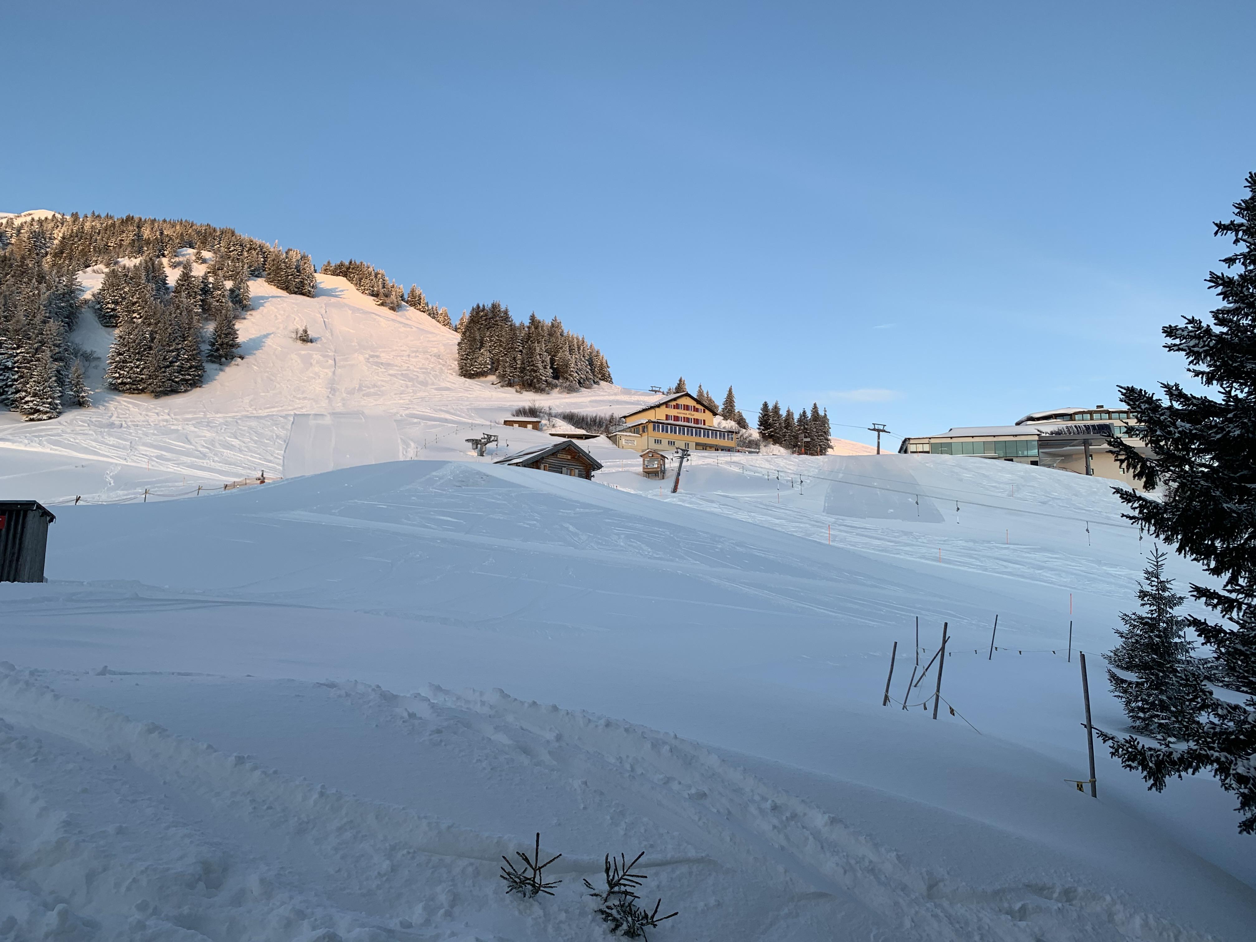 Panorama vor dem Lagerhaus